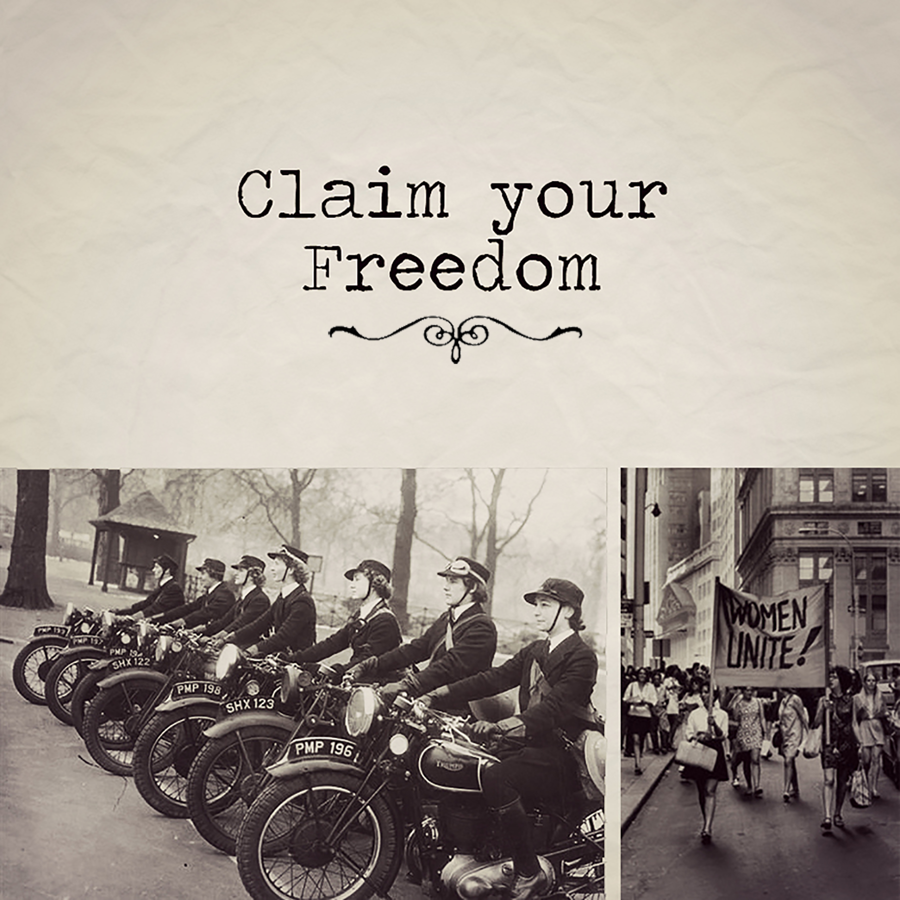 Claim Your Freedom